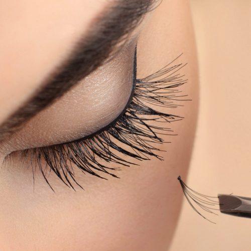 Eyelash extension.
